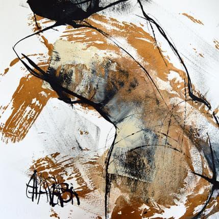 Martine Chaperon Cuivre 3 36 x 36 cm