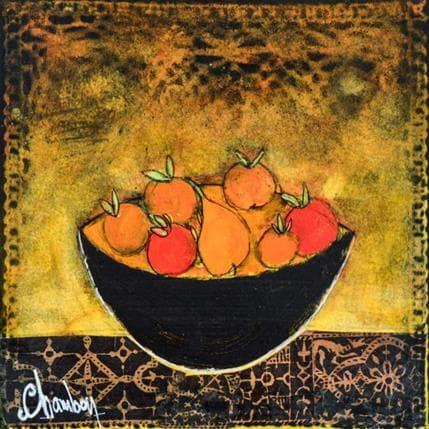 Michel Chambon Bol de fruit 19 x 19 cm