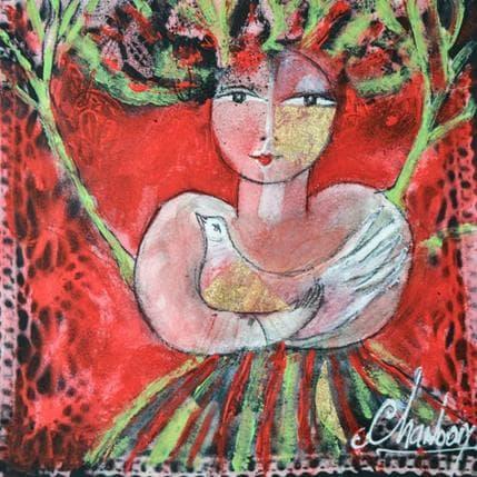 Michel Chambon Louison et l'oiseau 19 x 19 cm
