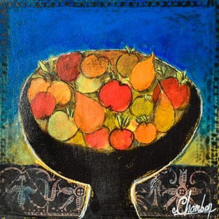 Michel Chambon Fruits mélangés 19 x 19 cm