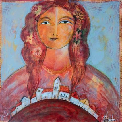 Michel Chambon Julie 36 x 36 cm