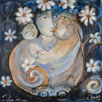 Michel Chambon Les amoureux 1 36 x 36 cm
