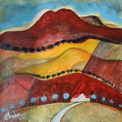 Michel Chambon Saint-Remy de Pce 25 x 25 cm