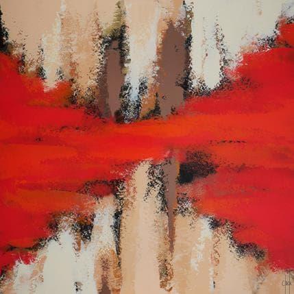 Clade La douceur de l'été 80 x 80 cm