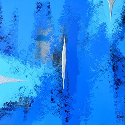 Clade Le lac endormi 36 x 36 cm