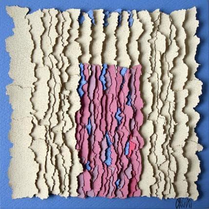 Gérard Clisson Sur fond bleu, c'est mieux 19 x 19 cm