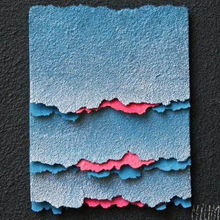 Gérard Clisson De satin bleu 13 x 13 cm