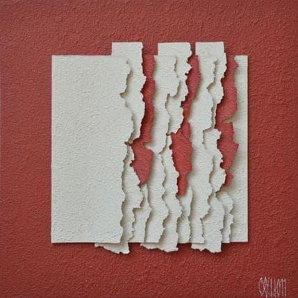 Gérard Clisson Lipstick sur peau blanche 25 x 25 cm