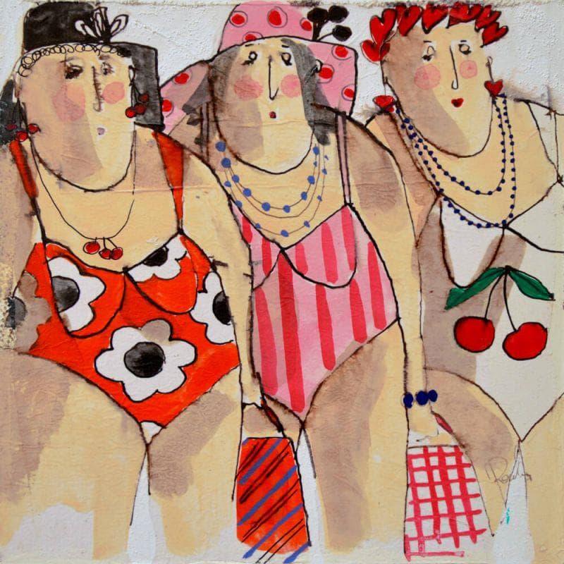 Martine, Elodie, Nadège