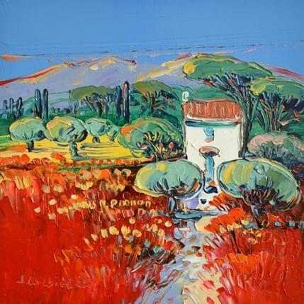 Liisa Corbière Près d'Arles 19 x 19 cm