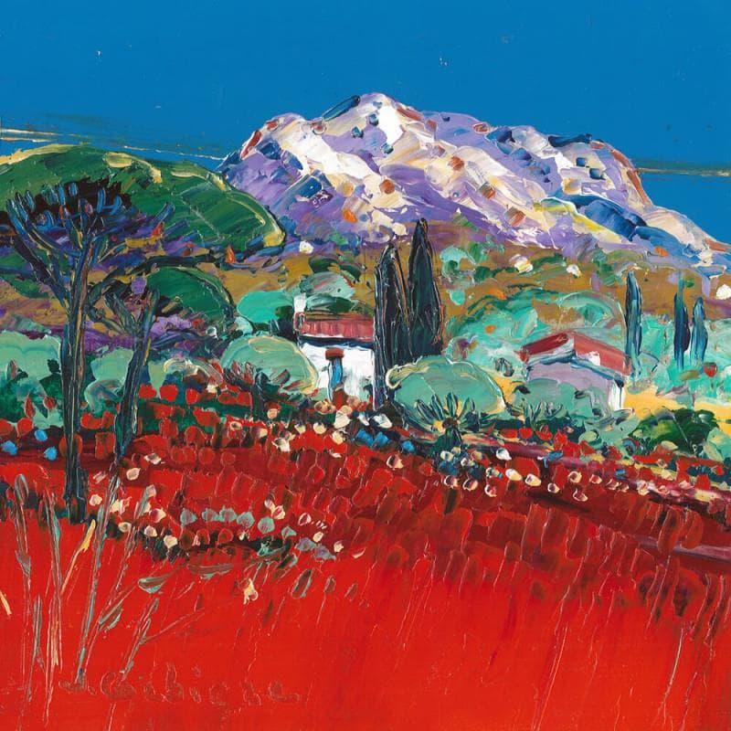 Le Mont Ste Victoire vue du Tholonet