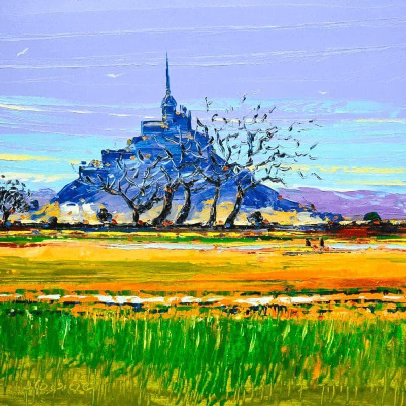 A l'approche du Mont St Michel