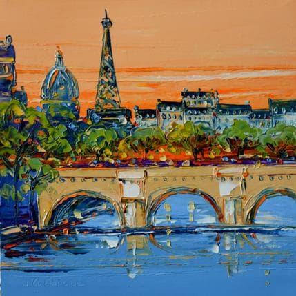 Liisa Corbière Pont tout neuf Paris 25 x 25 cm