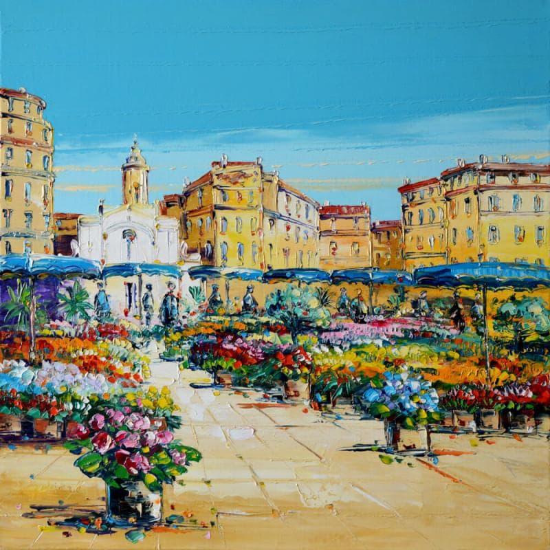 Marché aux fleurs à Marseille