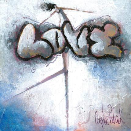 Patrick Cornée J'aime la vie! 13 x 13 cm