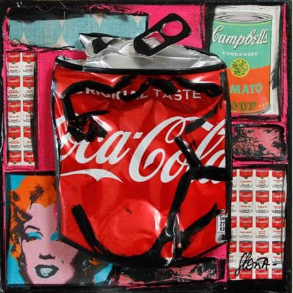 Sophie Costa Pop coke 13 x 13 cm