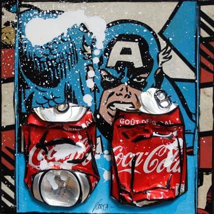Sophie Costa American coke 25 x 25 cm