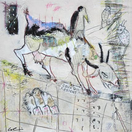 Sylvie Colin Hors les murs 25 x 25 cm