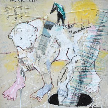 Sylvie Colin En mémoire 25 x 25 cm