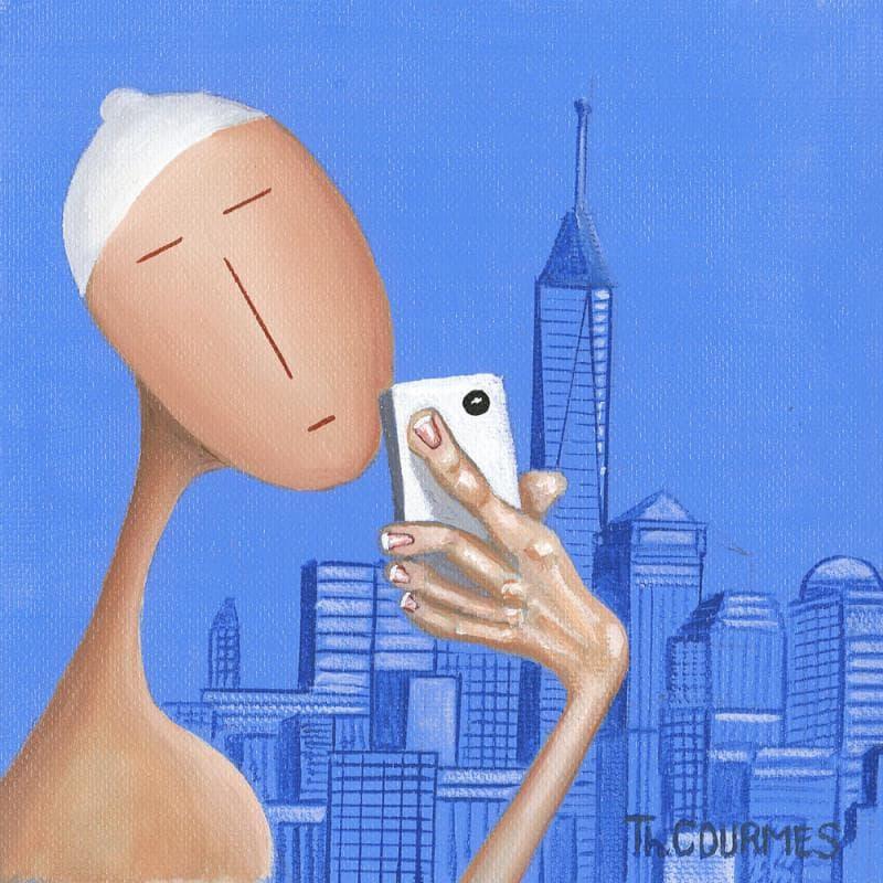 One World Trade Center - Blue selfie