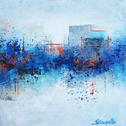 Steffi Coupette Blue dream 13 x 13 cm
