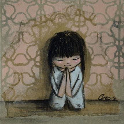 Croce Prière du soir 13 x 13 cm