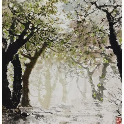 San Qian Shadowing 25 x 25 cm