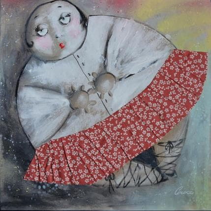 Croce Madame bulle 2 36 x 36 cm