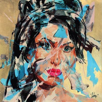 Nathalie Cubero 51D Amy Winehouse 36 x 36 cm