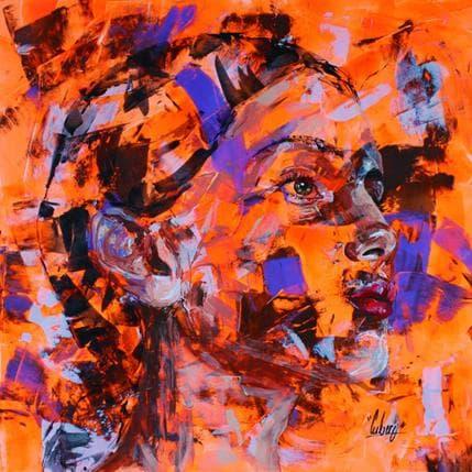 Nathalie Cubero Derrière les falaises 50 x 50 cm