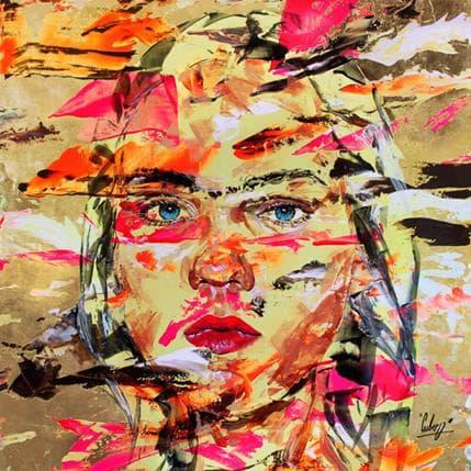 Nathalie Cubero L'espace entre nous 100 x 100 cm