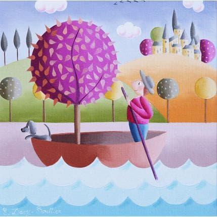 Elisabeth Davy - Bouttier Ballades dans les marais 19 x 19 cm