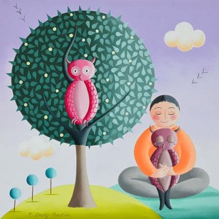 Elisabeth Davy - Bouttier Zen 25 x 25 cm