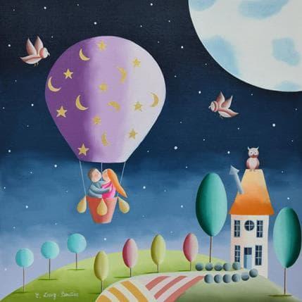 Elisabeth Davy - Bouttier Plus près des étoiles 36 x 36 cm