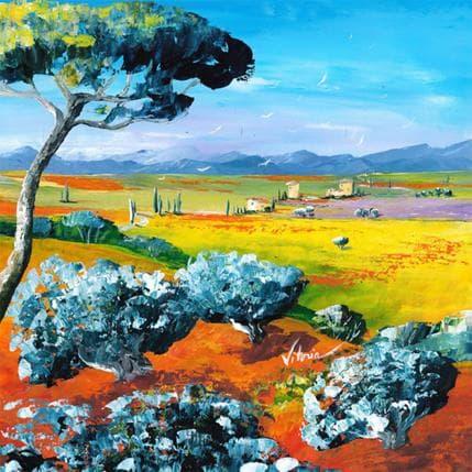 Vitoria Eté au coeur de la Provence 36 x 36 cm