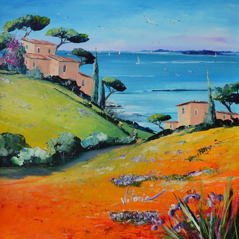 Les maisons au bord de mer