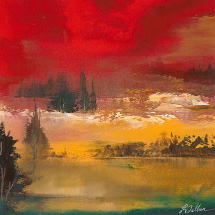 Dalban Rose Le petit lac 25 x 25 cm
