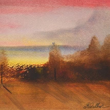 Rose Dalban Mystère 13 x 13 cm