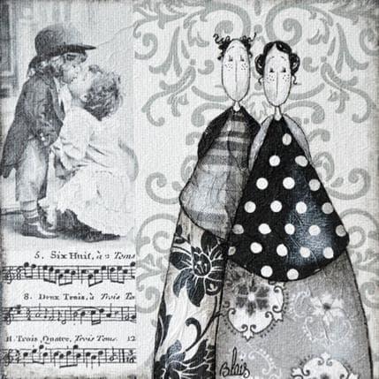 Delphine Blais Agathe et Marius 13 x 13 cm