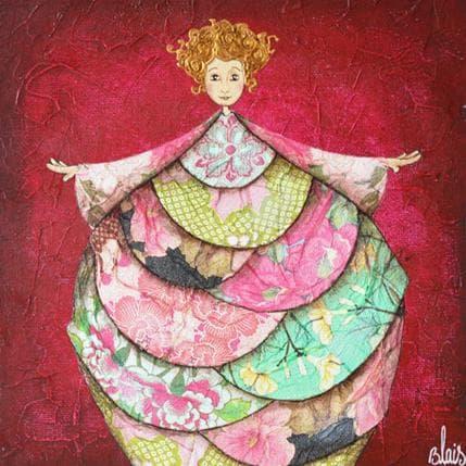Delphine Blais Clotilde 19 x 19 cm