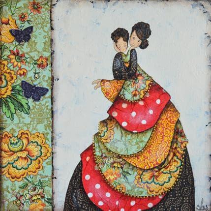 Delphine Blais Roberta et Lise 25 x 25 cm