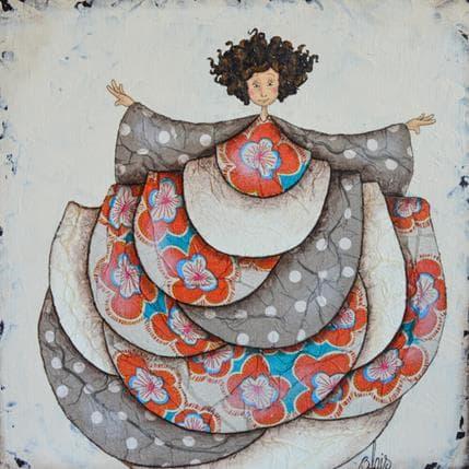 Delphine Blais Suzanne 25 x 25 cm