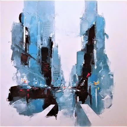 Daniel Castan Morning NYC 100 x 100 cm