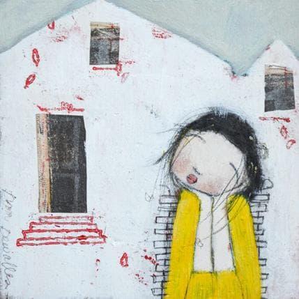 Dom Dewalles Ma maison blanche 13 x 13 cm