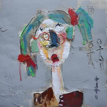 Isabelle De Joantho Lilou 25 x 25 cm