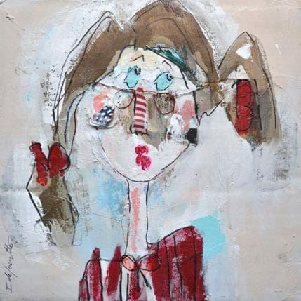 Isabelle De Joantho Rose 36 x 36 cm