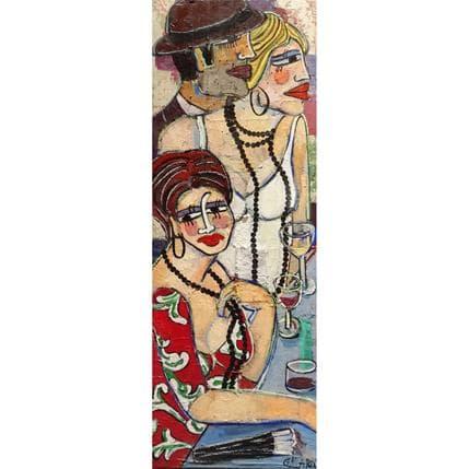 Mercedes Garcia Gallardo Un pensamiento 40 x 120 cm