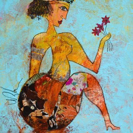 Valérie Depadova Des fleurs 25 x 25 cm