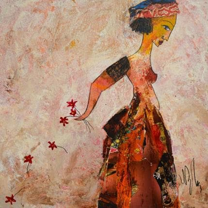 Valérie Depadova Des fleurs 36 x 36 cm