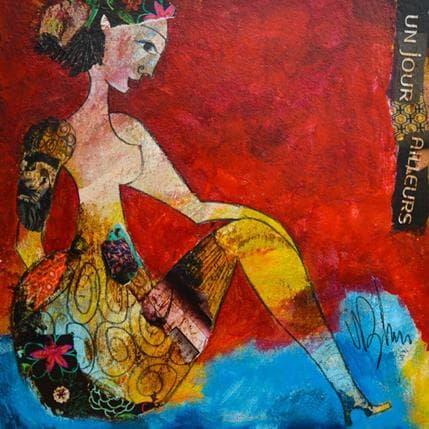 Valérie Depadova Un jour ailleurs 36 x 36 cm
